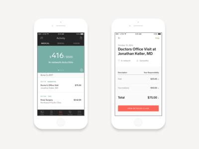 Your Health Claims healthcare mobile ios app