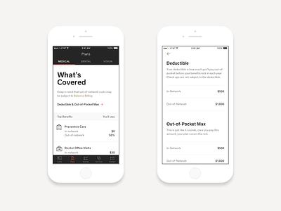 Your Health Plans app ios mobile healthcare