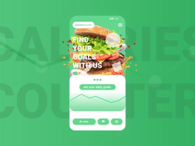 CaloriesCounter / App-design