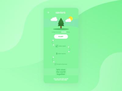 Saviors / App Concept