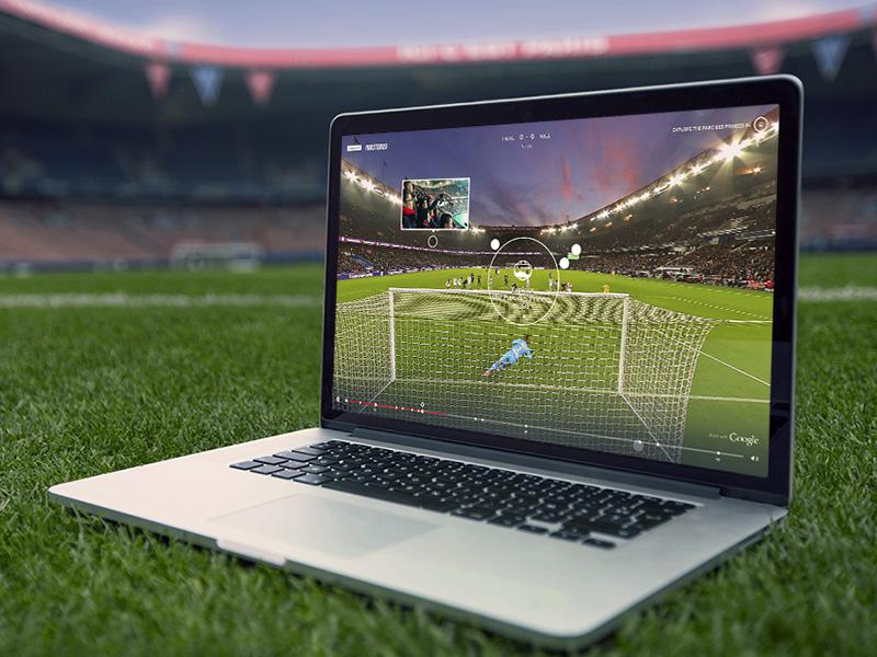 Paristories psg google photosphere experience interactive soccer football paristories