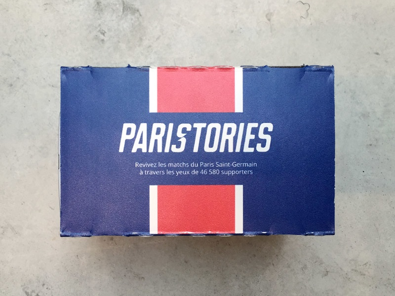 Paristories - Cardboard experience cardboard psg google photosphere experience interactive soccer football paristories