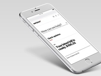 My Verizon Online - redesign