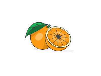 Orange designs designer graphic design oranges orange fruity fruit artist illustrator illustration vectorart vector