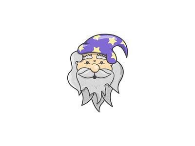 Wizardry beard graphicdesign stars purple wizardry wizardhat magical designer design artist illustrator vectorillustration illustration vectorart sketch vector characters characterdesign cartoon wizard