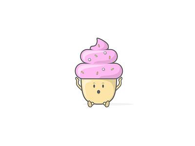 Cupcake digital illustration digitalart pink sprinkles cake cupcake vectorartwork artist art sketch graphicdesign vectorart vector designer design character design illustrate illustrations illustrator