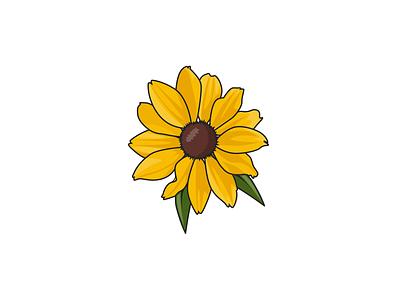 Yellow Flower flower illustration green flowers plant nature vectors vector art vector illustration vectorgraphic vector digital art digital illustration artwork art illustrate sketch illustration illsutrator flower yellow