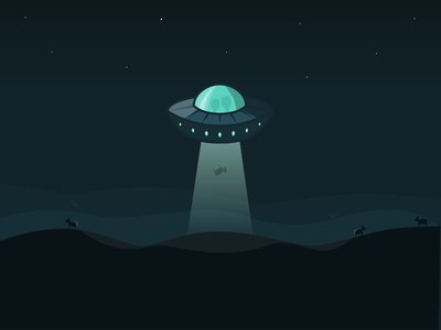 UFO designer design scene scenery sheep alien ufo vectorgraphics vectorgraphic vector illustration vectorart vector artist art digital illustration digitalartist digitalartwork illustration digital illustration illustrator