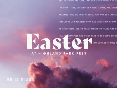 Easter at HP Pres