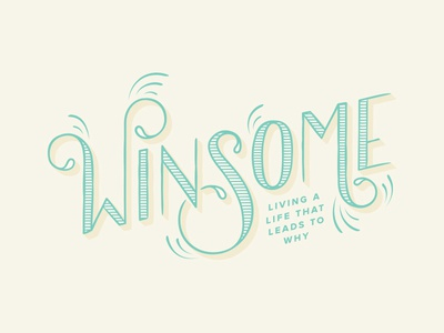 Winsome god life happy type church jesus sermon series winsome