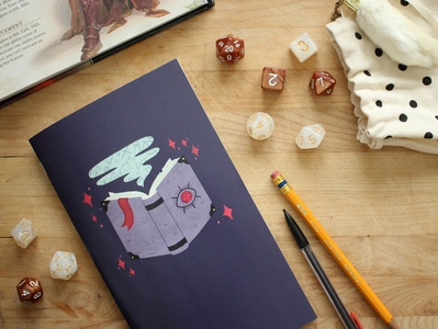 Tabletop Gaming Notebook - The Game Master