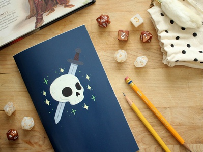 Tabletop Gaming Notebook - The Adventurer