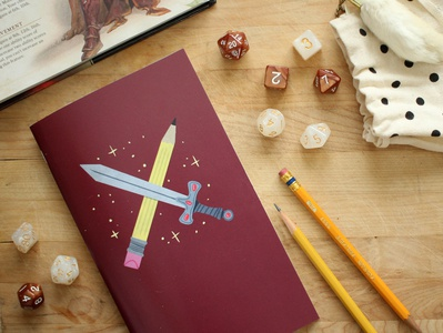Tabletop Gaming Notebook - The Dungeon Crawler