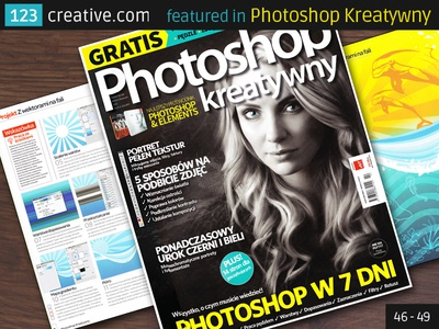 123creative.com featured in Photoshop Kreatywny