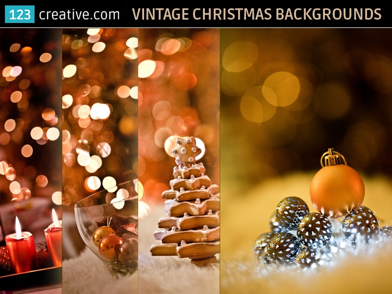 Vintage Christmas card backgrounds , stock photos by