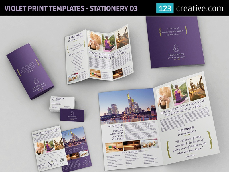 Print templates bundle: Bifold, Trifold Brochure, Business Flyer by ...