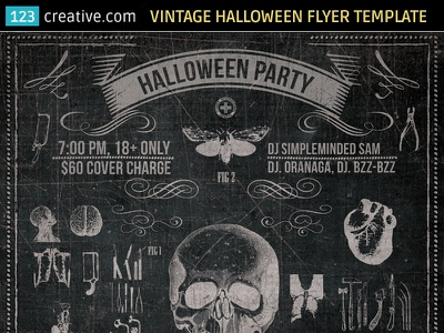 Vintage Halloween party flyer template halloween poster psd black halloween flyer party flyer template halloween print template scary flyer psd vintage halloween poster halloween flyer psd halloween party poster vintage halloween flyer halloween party flyer
