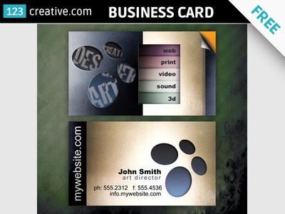 Business Card Download Designs Themes Templates And Downloadable Graphic Elements On Dribbble