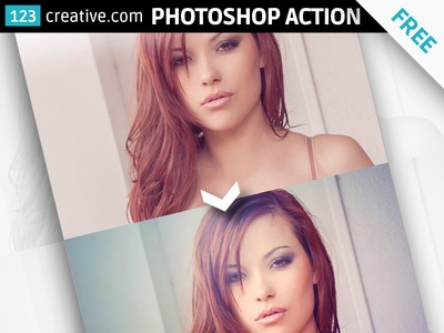 FREE Cold lights - Photoshop action mysterious photo effect cold atmosphere photo free photography action photo editing photo action apply atn action free tools for photographer photo post processing photographer photoshop action free photoshop action