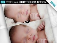 Free Photoshop action - Basic corrections - brightness, contrast