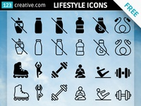 Free Health & Lifestyle icons for download