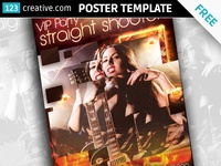 Free VIP party poster template party flyer template club flyer template club flyer psd music flyer free music poster free music flyer download music poster download rock concert flyer rock concert poster concert poster download