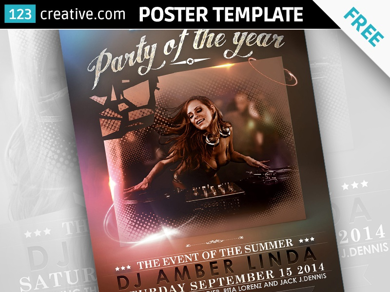Free Classy Event poster template poster template free flyer template free poster design download psd poster free psd flyer free photoshop template free event poster download party poster download event poster free party poster free