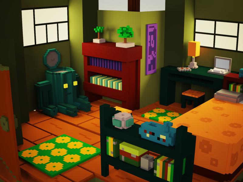 Gamer room_Concept room