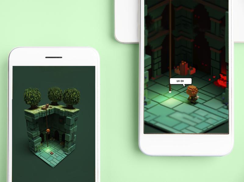 Lost treasure - Game Concept
