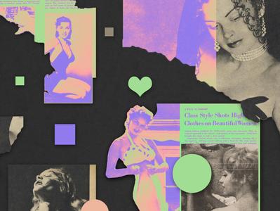 Amoral | Collage serie 014 colors minimal illustrator art dribbble artcollage design photoshop illustration collage