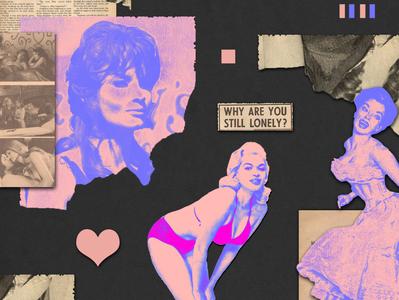 Amoral | collage serie 014 colors illustrator minimal art dribbble artcollage design photoshop illustration collage