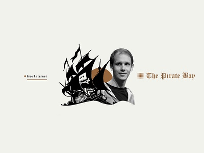 The pirate bay | collage piratebay torrent hacker ilustracion photoshop artcollage illustration collage