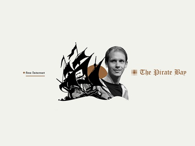 The pirate bay | collage