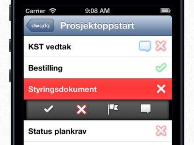 Supervision - Tasks Screen