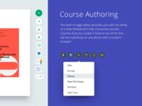 Geenio course editor