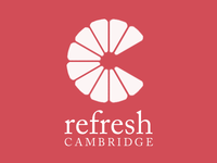 Refresh Cambridge logo