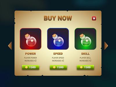 Game window user interface game interface application app web design ui window game design game