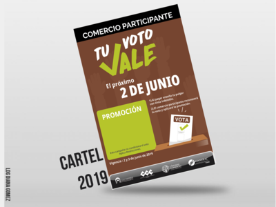 Cartel Elecciones 2019