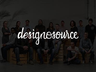 Logo Designosource logo handlettering lettering calligraphy type brand