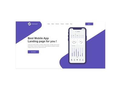 UI landing page
