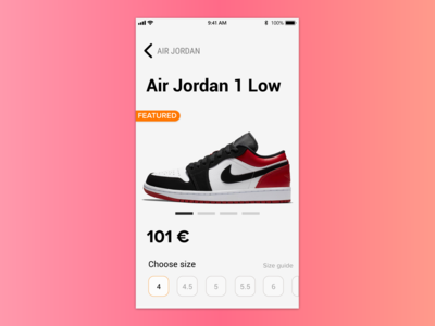 Nike - Single Item View