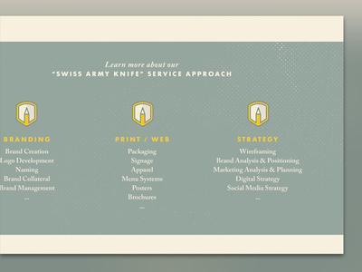 DesignScout Website Concept