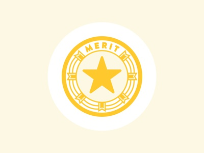 DS Badges Art Direction - Merit Badge