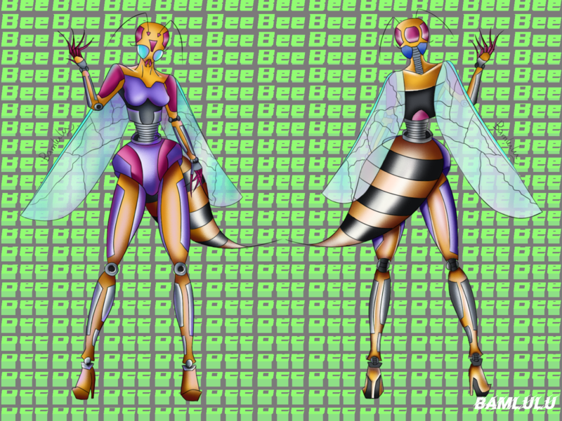 Insect man illustration