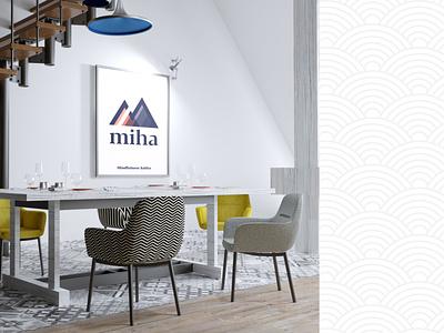 Logo Miha adobe xd brand design graphicdesign design graphic logo