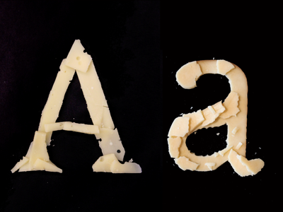 Cheesefont A & a