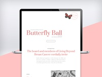 Butterfly Ball Event Page