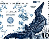 Australian Currency ($10)