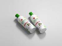 Hair Oil Wrapper Design hair oil product design chennai aqsha fashion shop illustration logo business branding