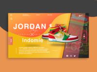 Jordan 1 X Indomie